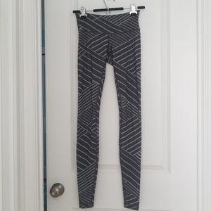 Lululemon size 4 gray Wunder Under pants